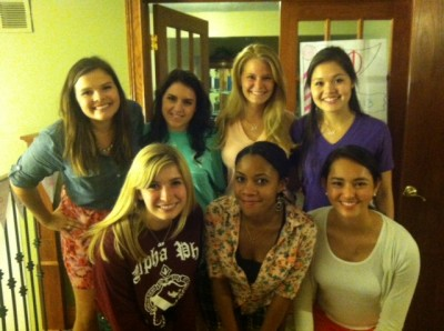 Some fabulous Phis wearing A-List pieces during down time at ELI