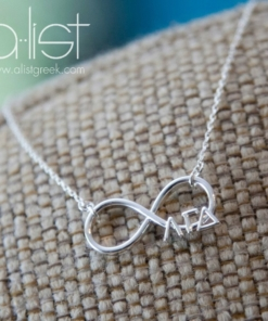 AGD-Sorority-Infinity-Necklace-Silver-on-Burlap
