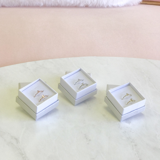 Delta Gamma Stack Ring Sets(1)