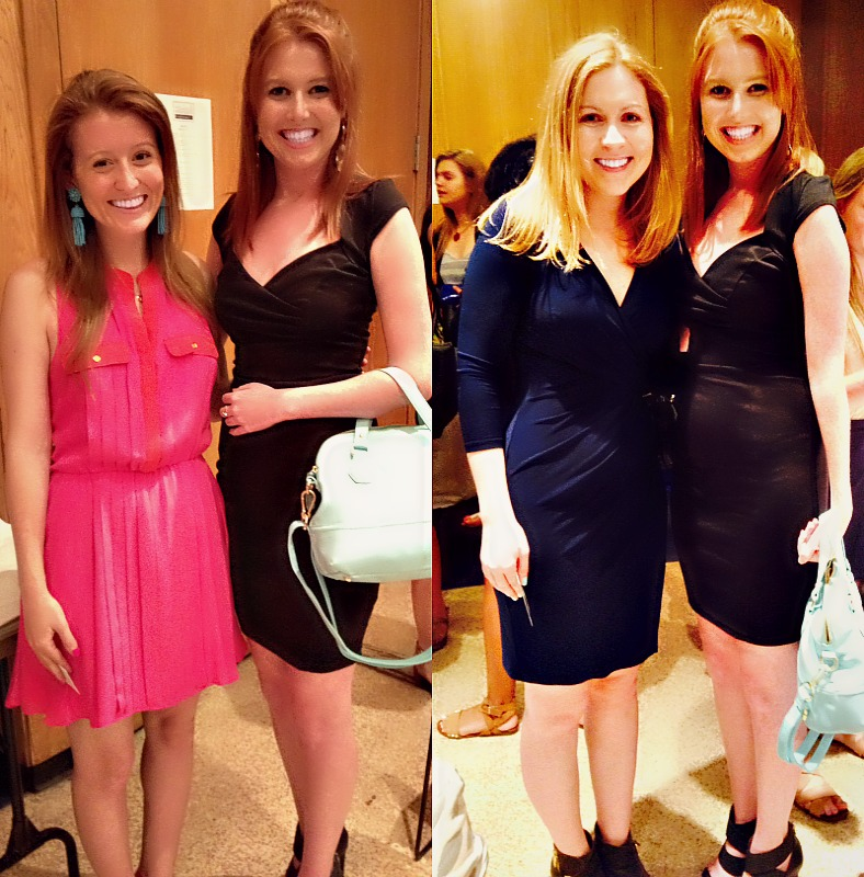 Mackenzie is an Alpha Chi Omega; and Molly is a Tri-Sigma!