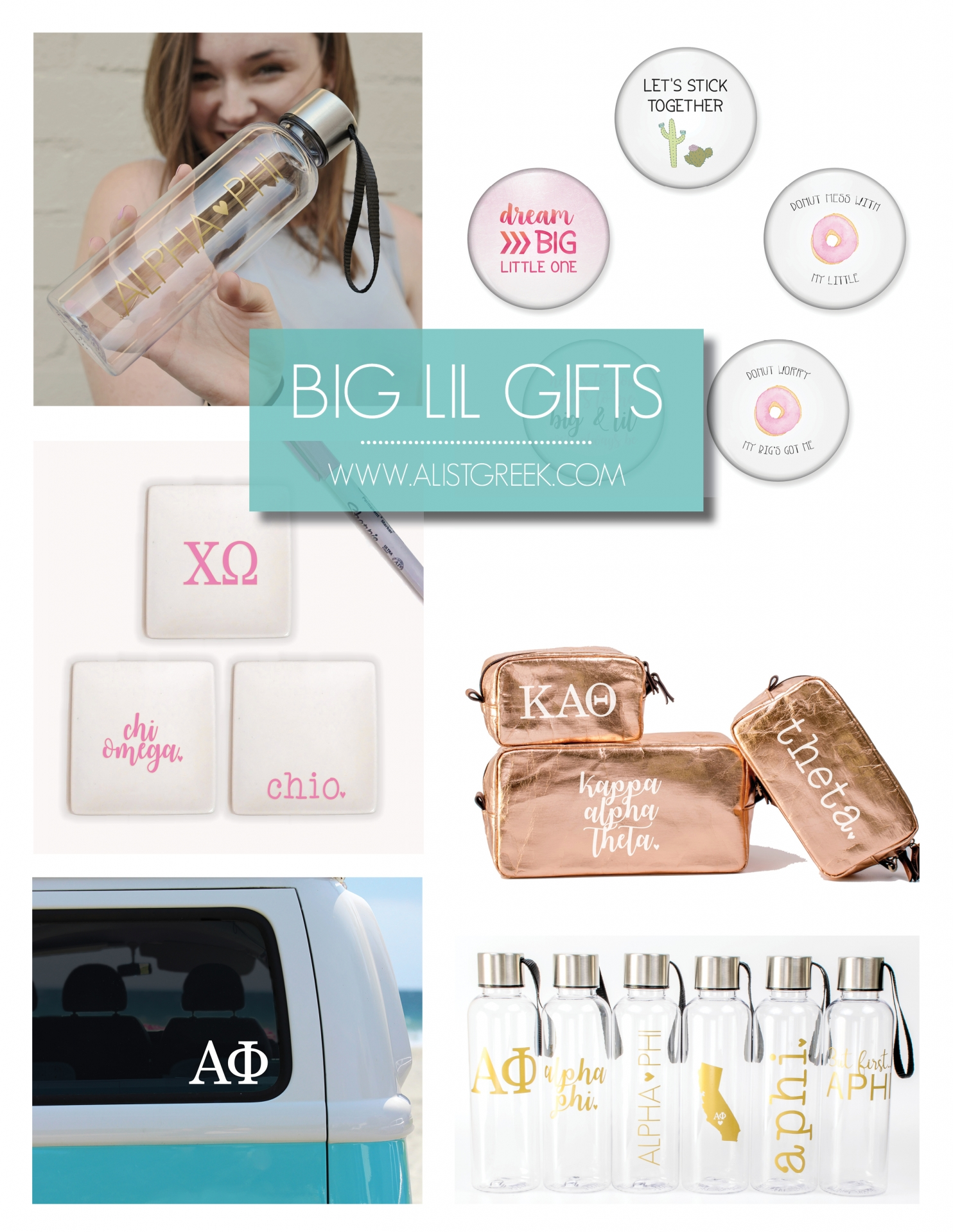 Big Little Week ~ Gifts, Ideas, and Big Little Love | A-List ...
