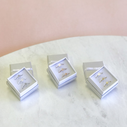 Alpha Epsilon Phi Stack Ring Sets