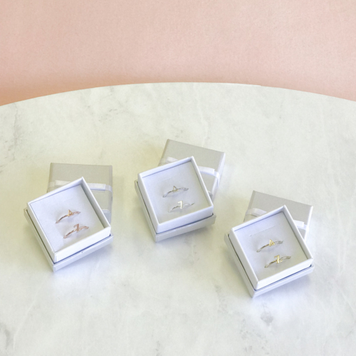 Delta Zeta Stack Ring Sets