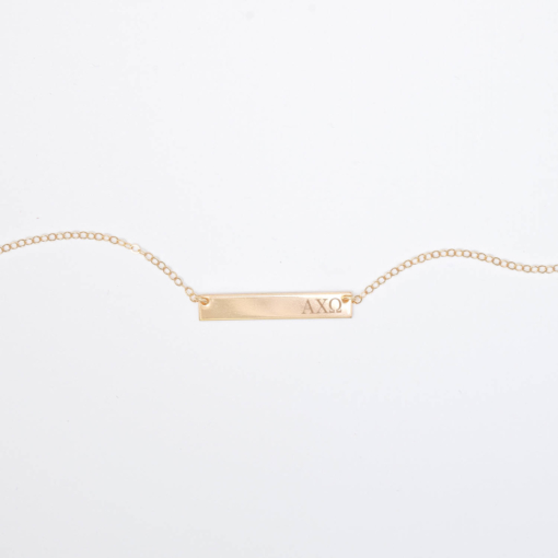 Bar-Necklace-Gold-H530-Alpha-Chi-Omega-Greek-Letters-6