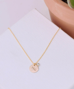 CZ-Dangle-Necklace-Gold-alpha-chi-omega-2
