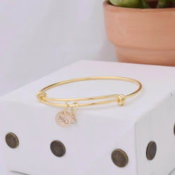 Gold-Coin-CZ-Bangle-Single-alpha-chi-omega-2
