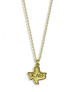 KAT-Sorority-Texas-State-Necklace-Gold