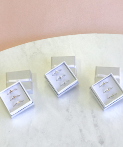 Alpha Xi Delta Stack Ring Sets