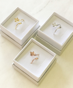 ivy ring silver gold rose gold