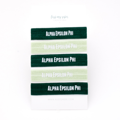 Alpha-Epsilon-Phi-Sorority-Hair-Tie-Set
