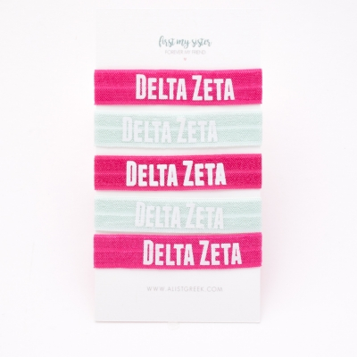 Delta-Zeta-Sorority-Hair-Tie-Set