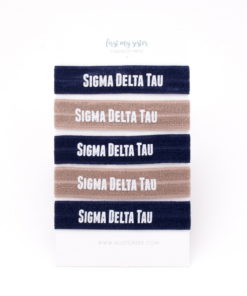 Sigma-Delta-Tau-Sorority Hair Tie Set