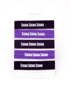 Sigma-Sigma-Sigma-Sorority Hair Tie Set-25