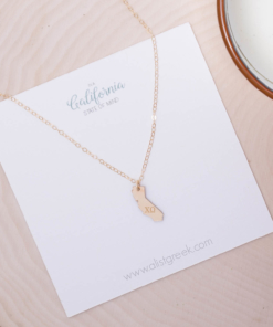 State-Necklace-California-Gold-Chi-Omega-Greek-Letters-2