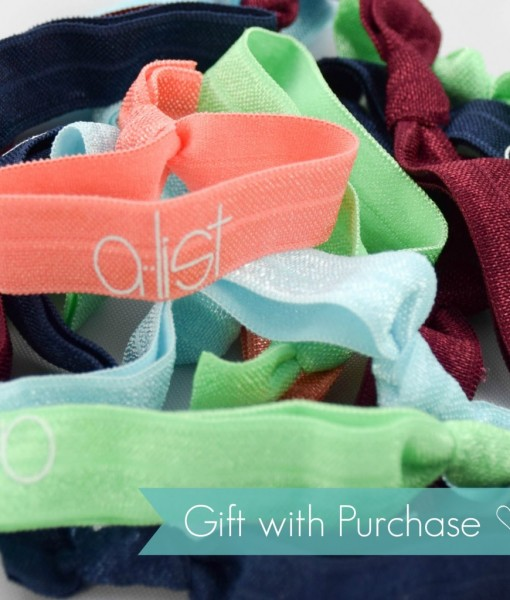 A-List-Hair-Tie-Gift-With-Purchase