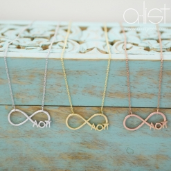 AOPi-Sorority-Infinity-Necklace-Silver-Gold-Rose-Gold-on-Box