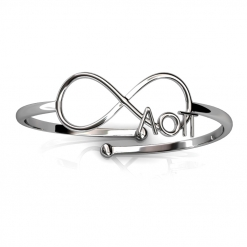 AOPi-Sorority-Infinity-Ring-Silver-Top