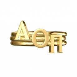 AOPi-Sorority-Stack-Rings-Gold-Square