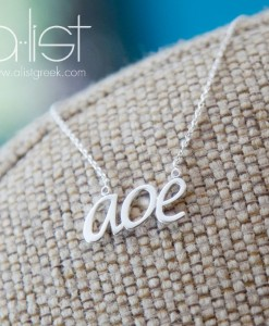 APhi-Sorority-aoe-motto-necklace-silver-on-burlap