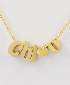 Chi-Omega-Sorority-AKA-Necklace-Gold-Close