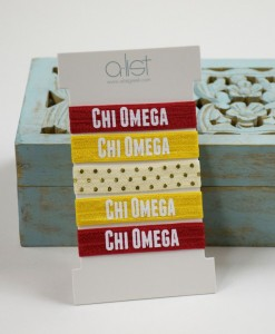 ChiO-Sorority-Hair-Ties-Front-on-box