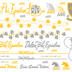 Delta-Phi-Epsilon-Sorority-Flash-Tattoos