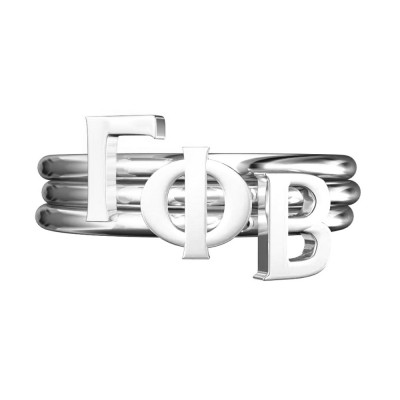 Gamma-Phi-Sorority-Stack-Rings-Silver-Square