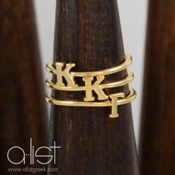 KKG-Sorority-Stack-Rings-Gold-on-Wood