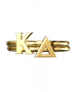Kappa-Delta-Sorority-Stack-Rings-Gold-Square