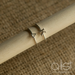 Kappa-Delta-Sorority-Stack-Rings-Silver-on-Dowel
