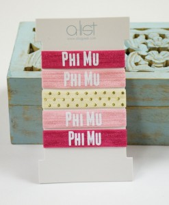 Phi-Mu-Sorority-Hair-Ties-Front-on-box