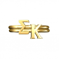 Sigma-Kappa-Sorority-Stack-Rings-Gold-Square
