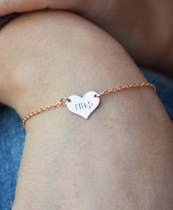 Sorority-Heart-Bracelet-Rose-Gold-Pi-Beta-Phi-on-wrist