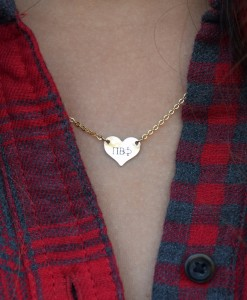 Sorority-Heart-Necklace-Gold-Pi-Beta-Phi-on-model