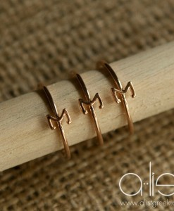 Tri-Sigma-Sorority-Stack-Rings-Rose-Gold-on-Dowel