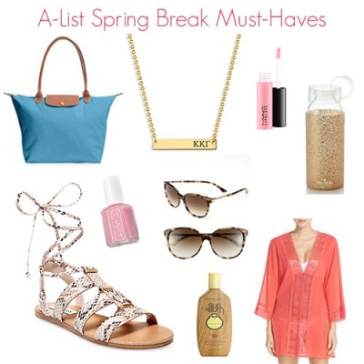 Spring Break Must Haves from Nordstrom and A-List