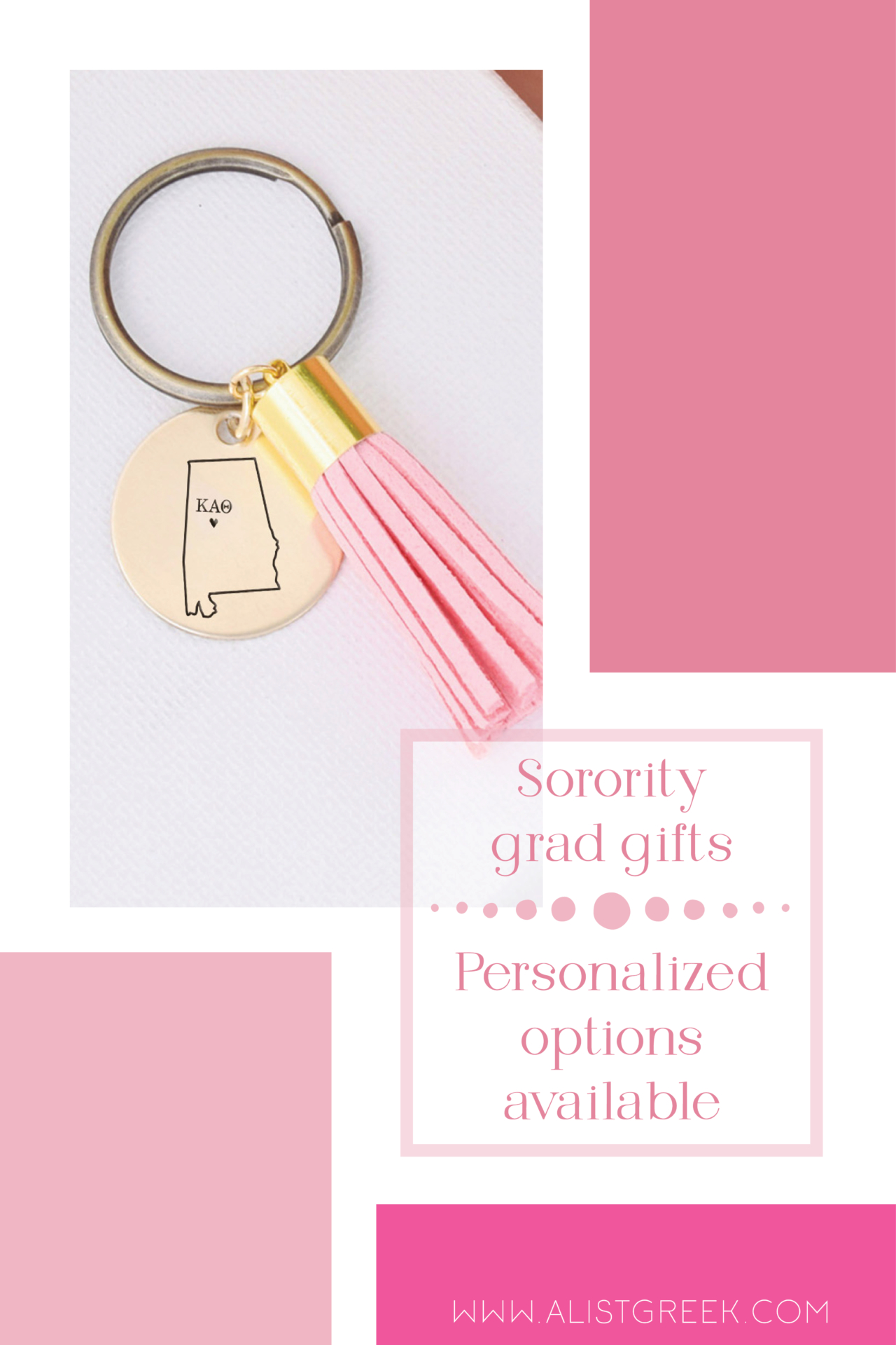 Personalized Sorority Grad Gifts