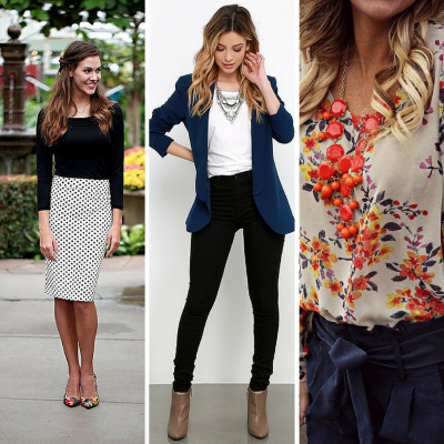 Outfit One-Inspired by Lulu's// Outfit Two-Inspired by Sierra Brooke// Outfit Three-Inspired by Pop of Style