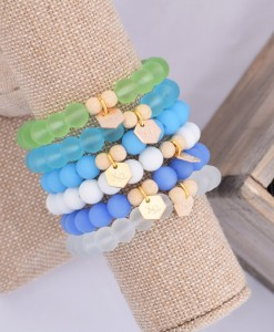Chi-Omega-Gold-Sea-Glass-Bracelet-Compilation