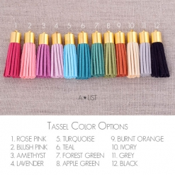 Sorority Tassel Color Options