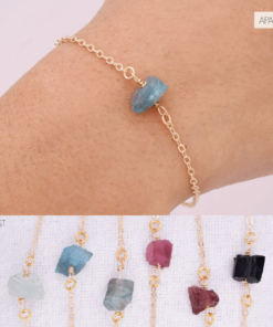 Raw Gem Bracelet Compilation Apatite 2