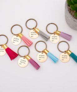 alpha-delta-pi-group-order-keychain-7-colors