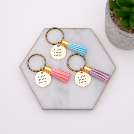 alpha-gamma-delta-group-order-keychain-turquoise-blush-and-lavender