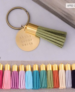 alpha-gamma-delta-tassel-keychain-apple-green-compilation