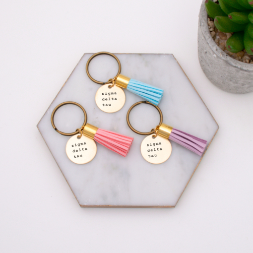 sigma-delta-tau-group-order-keychain-turquoise-blush-and-lavender