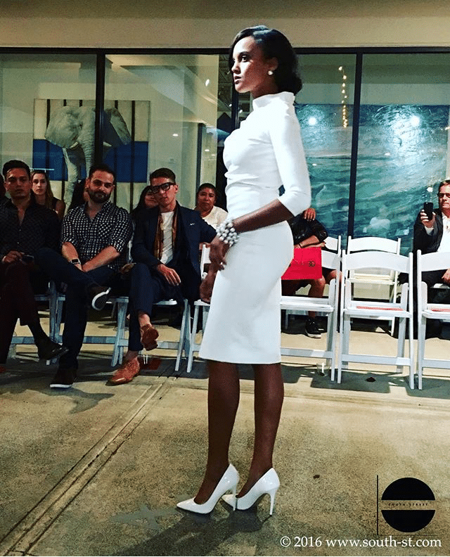 All white from designer, IONICA. Photo Courtesy of On South Street