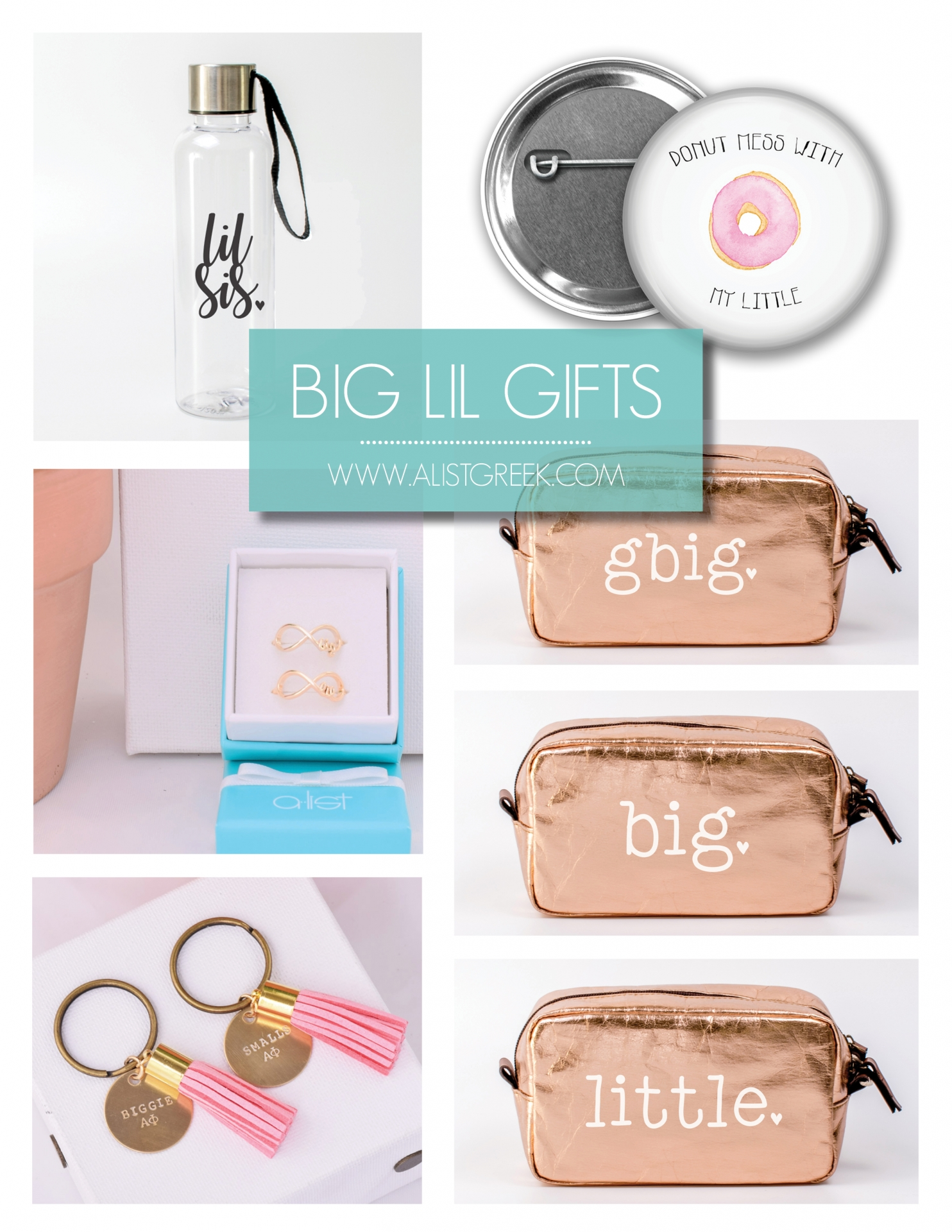 Big Little Sis Gifts from www.alistgreek.com