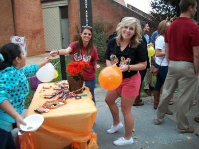Loving these Fall colors and Philanthropy by JMU Phi Mu
