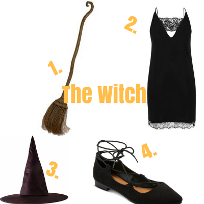 Last Minute Witch Costume