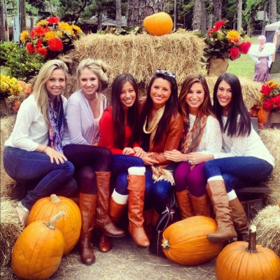 Gather your sisters 'round at the Pumpkin Patch! Photo credit: The Sorority Files